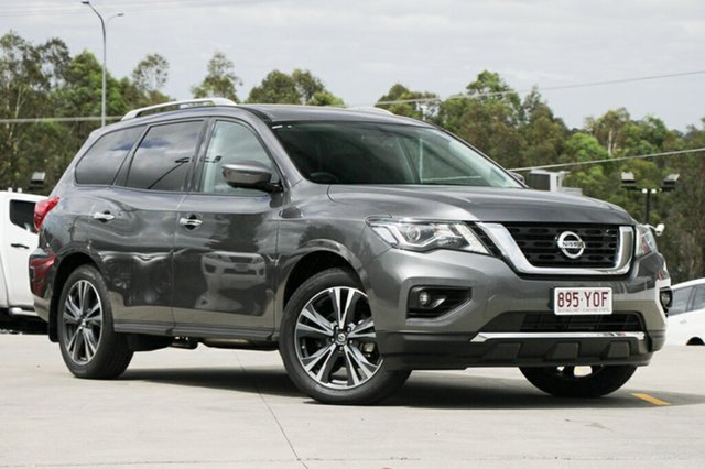 Demo Nissan Pathfinder R52 Series II MY17 Ti X-tronic 2WD, 2017 Nissan Pathfinder R52 Series II MY17 Ti X-tronic 2WD Gun Metallic 1 Speed Constant Variable