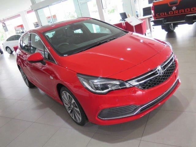 Demo Holden Astra BK MY18.5 RS-V, 2018 Holden Astra BK MY18.5 RS-V Absolute Red 6 Speed Sports Automatic Hatchback