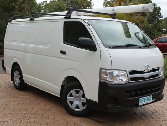 Used Toyota Hiace KDH201R MY12 LWB, 2013 Toyota Hiace KDH201R MY12 LWB White 5 Speed Manual Van