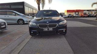 2011 BMW 520d F10 Carbon Black Sports Automatic Sedan.