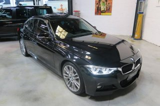 2017 BMW 330e F30 LCI M Sport Black 8 Speed Sports Automatic Sedan Hybrid.