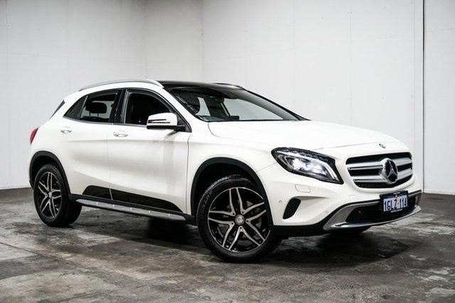 Used Mercedes-Benz GLA180 X156 806MY DCT, 2016 Mercedes-Benz GLA180 X156 806MY DCT White 7 Speed Sports Automatic Dual Clutch Wagon