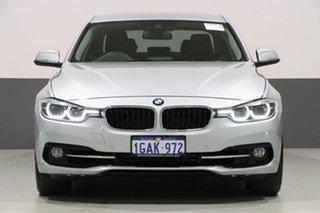 2016 BMW 318i F30 LCI Sport Line Silver 8 Speed Automatic Sedan.