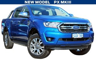 2018 Ford Ranger PX MKIII 2019.0 XLT Pick-up Double Cab Blue Lightning 6 Speed Sports Automatic