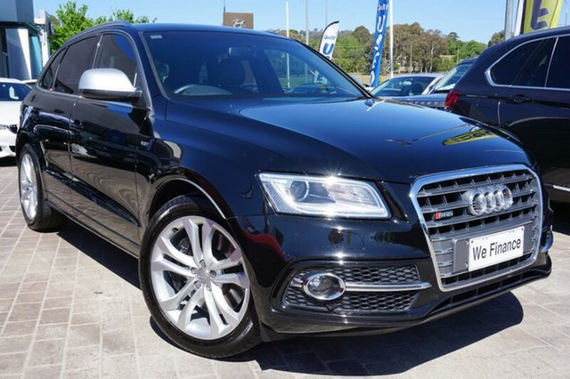Used Audi SQ5 8R MY14 TDI Tiptronic Quattro, 2014 Audi SQ5 8R MY14 TDI Tiptronic Quattro Black 8 Speed Sports Automatic Wagon
