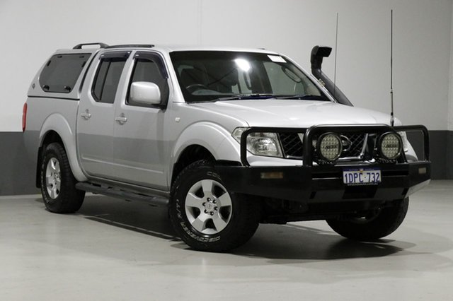 Used Nissan Navara D40 ST (4x4), 2011 Nissan Navara D40 ST (4x4) Silver 5 Speed Automatic Dual Cab Pick-up