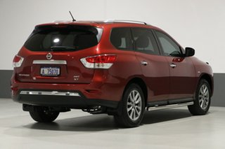 2016 Nissan Pathfinder R52 MY15 ST (4x4) Red Continuous Variable Wagon