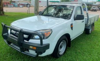 2011 Ford Ranger PK XL 4x2 White 5 Speed Manual Cab Chassis