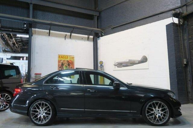Used Mercedes-Benz C250 CDI W204 Avantgarde, 2013 Mercedes-Benz C250 CDI W204 Avantgarde Black Sports Automatic Sedan