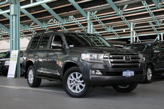 Used Toyota Landcruiser VDJ200R Sahara, 2015 Toyota Landcruiser VDJ200R Sahara Graphite 6 Speed Sports Automatic Wagon