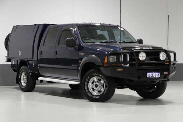 Used Ford F250 RN XLT (4x4), 2004 Ford F250 RN XLT (4x4) Blue 4 Speed Automatic Crew Cab Pickup