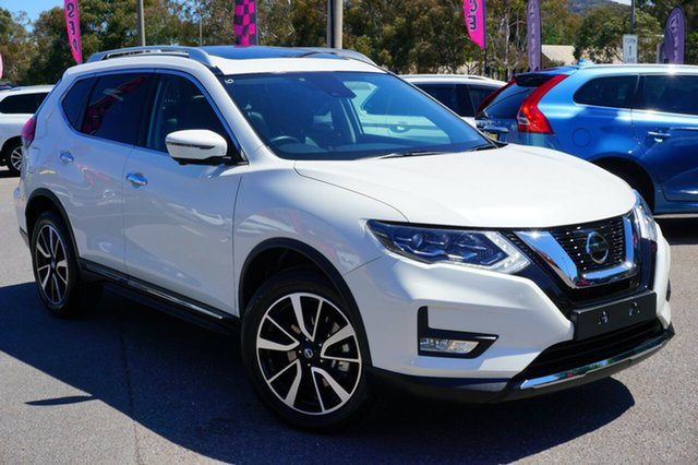 Used Nissan X-Trail T32 Series II TL X-tronic 4WD, 2018 Nissan X-Trail T32 Series II TL X-tronic 4WD White 7 Speed Constant Variable Wagon