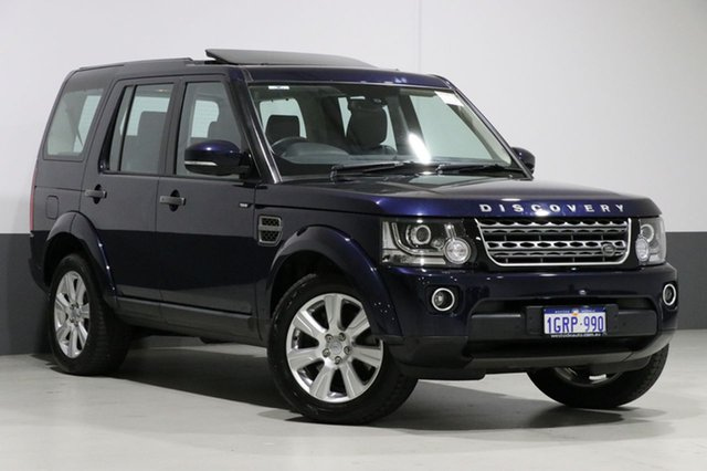 Used Land Rover Discovery MY16 3.0 TDV6, 2016 Land Rover Discovery MY16 3.0 TDV6 Blue 8 Speed Automatic Wagon