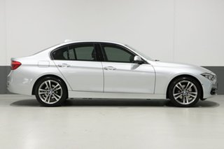 2016 BMW 318i F30 LCI Sport Line Silver 8 Speed Automatic Sedan