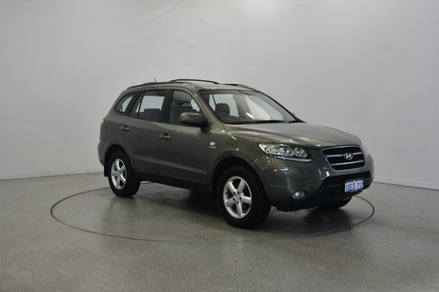 Used Hyundai Santa Fe CM MY08 SLX, 2008 Hyundai Santa Fe CM MY08 SLX Khaki 5 Speed Sports Automatic Wagon
