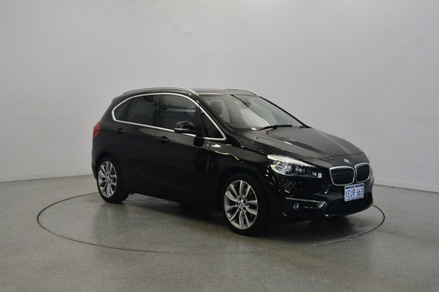 Used BMW 218i F45 Luxury Line Active Tourer Steptronic, 2014 BMW 218i F45 Luxury Line Active Tourer Steptronic Sparkling Brown 6 Speed Automatic Hatchback