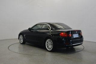 2014 BMW 428i F33 Luxury Line Black 8 Speed Sports Automatic Convertible
