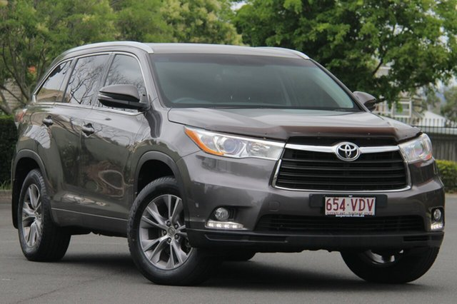 Used Toyota Kluger GSU55R GXL AWD, 2014 Toyota Kluger GSU55R GXL AWD Grey 6 Speed Sports Automatic Wagon