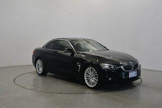 2014 BMW 428i F33 Luxury Line Black 8 Speed Sports Automatic Convertible.