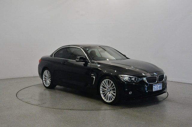 Used BMW 428i F33 Luxury Line, 2014 BMW 428i F33 Luxury Line Black 8 Speed Sports Automatic Convertible