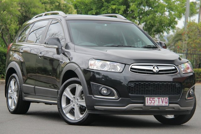Used Holden Captiva CG MY14 7 AWD LTZ, 2014 Holden Captiva CG MY14 7 AWD LTZ Black 6 Speed Sports Automatic Wagon