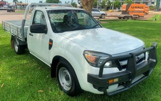 2011 Ford Ranger PK XL 4x2 White 5 Speed Manual Cab Chassis.