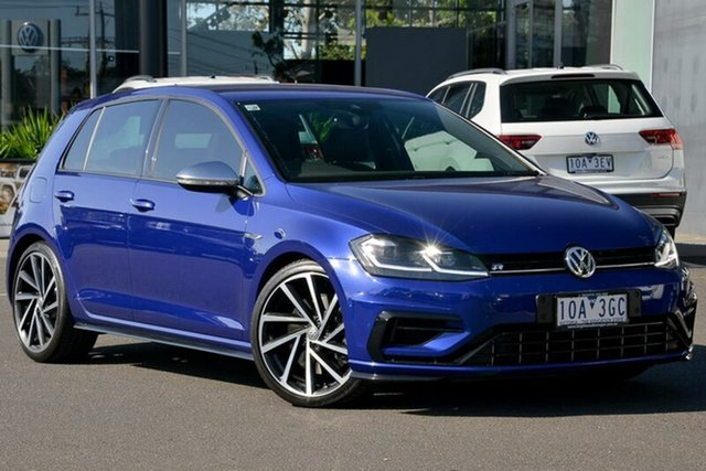 Used Volkswagen Golf 7.5 MY17 R DSG 4MOTION, 2017 Volkswagen Golf 7.5 MY17 R DSG 4MOTION Blue 7 Speed Sports Automatic Dual Clutch Hatchback