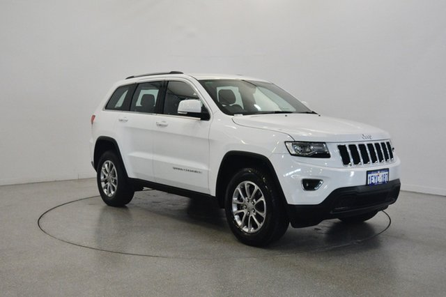 Used Jeep Grand Cherokee WK MY15 Laredo 4x2, 2016 Jeep Grand Cherokee WK MY15 Laredo 4x2 Bright White 8 Speed Sports Automatic Wagon