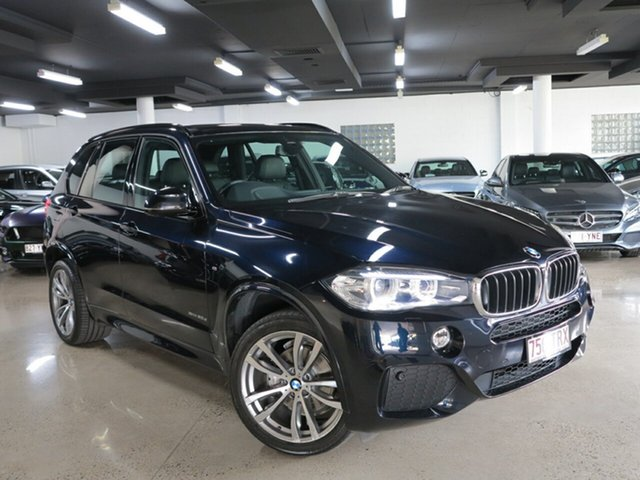 Used BMW X5 F15 xDrive30d, 2014 BMW X5 F15 xDrive30d Carbon Black 8 Speed Sports Automatic Wagon