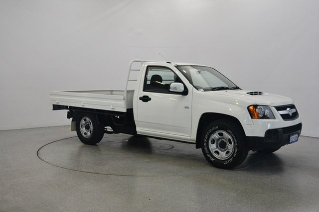 Used Holden Colorado RC MY09 LX 4x2, 2009 Holden Colorado RC MY09 LX 4x2 White 5 Speed Manual Cab Chassis