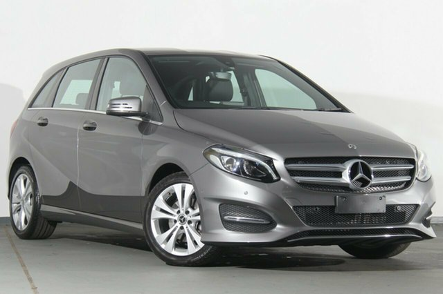 Used Mercedes-Benz B200 W246 808MY DCT, 2017 Mercedes-Benz B200 W246 808MY DCT Mountain Grey 7 Speed Sports Automatic Dual Clutch Hatchback