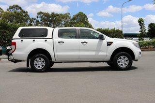 2011 Ford Ranger PX XL Double Cab Cool White 6 Speed Sports Automatic Utility