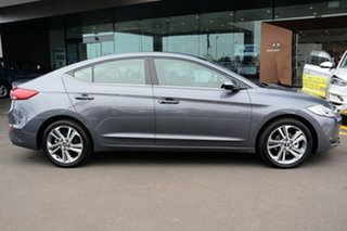 2018 Hyundai Elantra AD MY18 Elite Iron Grey 6 Speed Sports Automatic Sedan
