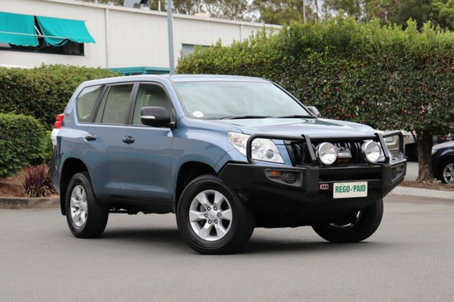 Used Toyota Landcruiser Prado KDJ150R GX, 2013 Toyota Landcruiser Prado KDJ150R GX Blue 5 Speed Sports Automatic Wagon