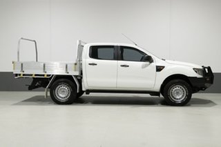 2014 Ford Ranger PX XL 3.2 (4x4) White 6 Speed Manual Dual Cab Utility