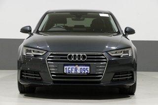 2017 Audi A4 F4 MY17 (B9) 2.0 TDI Quattro S Tronic Sport Grey 7 Speed Auto Dual Clutch Sedan.