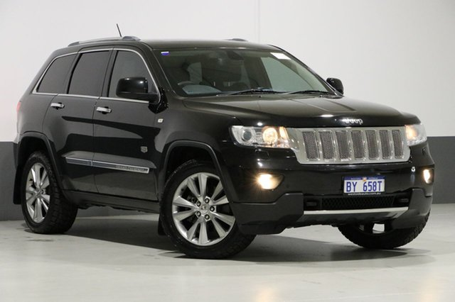 Used Jeep Grand Cherokee WK Limited 70th Anniversary (4x4), 2011 Jeep Grand Cherokee WK Limited 70th Anniversary (4x4) Black 5 Speed Automatic Wagon