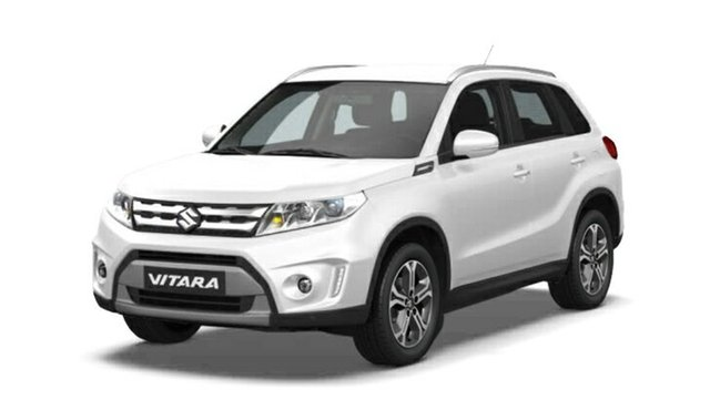 Demo Suzuki Vitara LY GL+ 2WD, 2018 Suzuki Vitara LY GL+ 2WD Pearl White 5 Speed Manual Wagon