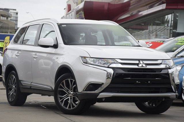 New Mitsubishi Outlander ZL MY18.5 ES 2WD, 2018 Mitsubishi Outlander ZL MY18.5 ES 2WD Starlight 6 Speed Constant Variable Wagon