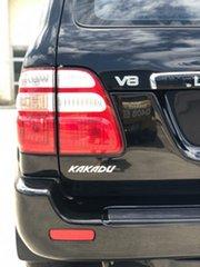 2004 Toyota Landcruiser UZJ100R Kakadu Black 5 Speed Automatic Wagon