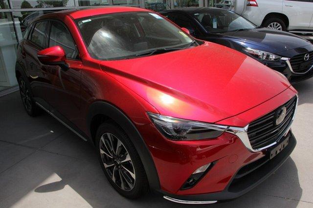 New Mazda CX-3 DK4W7A Akari SKYACTIV-Drive i-ACTIV AWD, 2019 Mazda CX-3 DK4W7A Akari SKYACTIV-Drive i-ACTIV AWD Red 6 Speed Sports Automatic Wagon