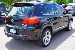 2015 Volkswagen Tiguan 5N MY15 155TSI DSG 4MOTION R-Line Black 7 Speed Sports Automatic Dual Clutch