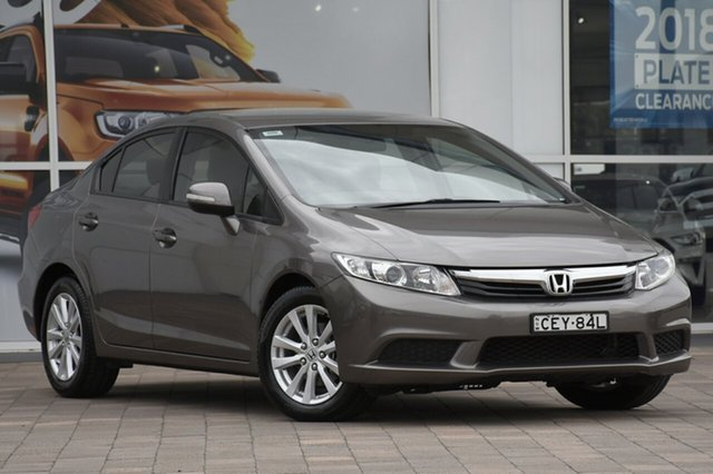 Used Honda Civic 9th Gen VTi-L, 2012 Honda Civic 9th Gen VTi-L Beige 5 Speed Sports Automatic Sedan