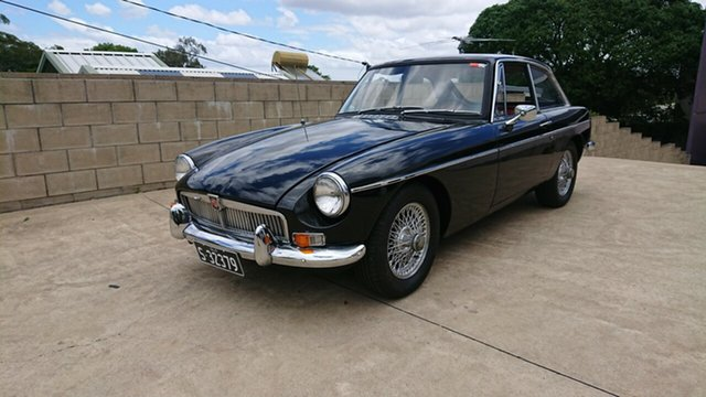 Used MG B Mk 2 GT, 1969 MG B Mk 2 GT Black 4 Speed Manual + O/Drive Coupe