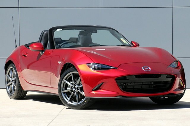 New Mazda MX-5 ND GT SKYACTIV-Drive Wollongong, 2020 Mazda MX-5 ND GT SKYACTIV-Drive Soul Red Crystal 6 Speed Sports Automatic Roadster