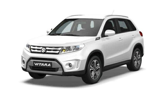 New Suzuki Vitara LY GL+ 2WD, 2018 Suzuki Vitara LY GL+ 2WD Pearl White 6 Speed Sports Automatic Wagon