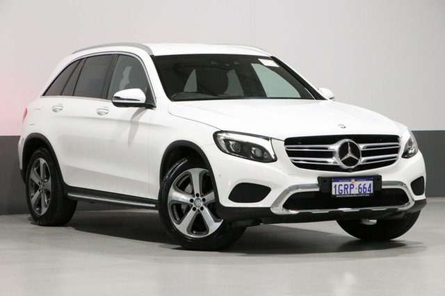 Used Mercedes-Benz GLC250D 253 , 2016 Mercedes-Benz GLC250D 253 White 9 Speed Automatic Wagon