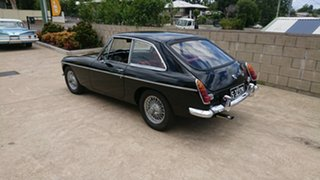 1969 MG B Mk 2 GT Black 4 Speed Manual + O/Drive Coupe