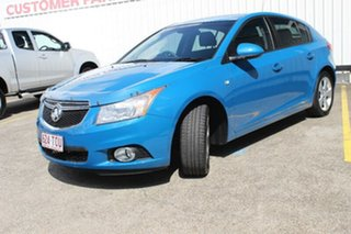 2013 Holden Cruze JH Series II MY14 Equipe Blue 6 Speed Sports Automatic Hatchback.
