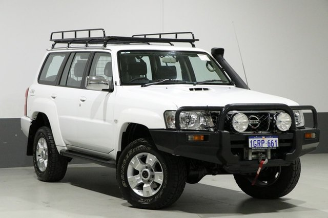 Used Nissan Patrol GU IV ST (4x4), 2006 Nissan Patrol GU IV ST (4x4) White 5 Speed Manual Wagon